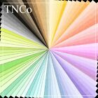 TNCo Solid coloured card, white reverse card, coloured silk card, 85 colours