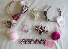 NWT GYMBOREE GLAMOUR KITTY WINTER BALLERINA HOLIDAY HAIR ACCESSORIES HEADBAND