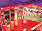 1978/79 Arsenal Home Games Football Programmes