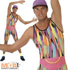 Mr Energizer Motivator 80's- 90's Mens Fitness Instructor Fancy Dress Costume