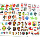 Waterproof 3M Stickers Random Sheets For Wall/Tablet/iPad/Travel Case/Skate/BMX