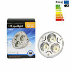 LED Lampe Spotlight MR 16 /GU 5,3  3W LED Strahler Lampen Warmweiß 4 - 20er Pack