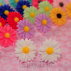 LARGE VINTAGE 22mm DAISY EARRINGS WEDDING FAVOUR CUTE GIFT BRIDE BRIDESMAID PROM