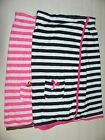 NEW DOLLHOUSE TERRYCLOTH SWIMSUIT COVER-UP BLACK WHITE or PINK SIZE SM or MED