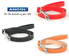 Ancol Heritage Classic Leather Dog Lead - Choice of Colours & Sizes