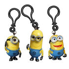 DESPICABLE ME 2 MINION 3D BAG CLIP - CHOOSE DESIGN BRAND NEW DAVE STUART TIM