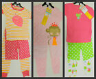 New Carter's Girls Year Round 3 pc Sleepwear Pajamas Set sz 2T * YOU PICK COLOR