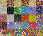 Acrylic Drop Beads - Pearl, Crystal, and Faceted Colorful Styles - Many Colors