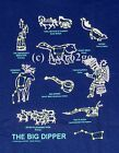 BIG DIPPER--Space Astronomy Constellations Mythology Science T shirt New!  S-3XL