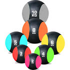 Rubber Medicine Ball Weights Exercise Fitness MMA Boxing Training Gym All Sizes