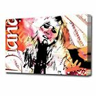 1980 Diana Vickers Canvas Modern Abstract Wall Art Music Print Pop/ Rock
