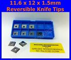 11.6 x 12 x 1.5mm Reversible Knives Solid Carbide Replacement Tips