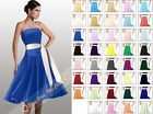 STOCK 2014 Christmas Homecoming Party Gown Prom Ball Bridesmaids Dresses Sz 6-26