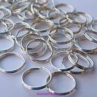 50, 100, 200 or 400 x Silver Plated Double Loop Split Open Jump Rings *UK ONLY*