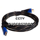Premium HDMI Cable 6ft 10ft 15ft 20ft 30ft V1.4 Bluray 3D DVD XBOX LCD HD TV lot