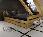 "*NODAX* New Pine King Size Bed EU Size 160/200 cm/Select Underbed Drawer - ""F2"""