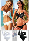Sexy Womens 2Pcs Lotus Push Up Bikini Trikini Swimwear Swimsuit, Unbrand