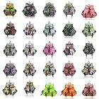 LYDC Anna Smith Cosmos Space Star Shoes Food Tea Party Print Rucksack / Backpack