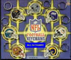 2 NEW NFL LICENSED TWO SIDED RETIRED FOOTBALL DIE CUT HELMET KEYCHAIN PULLS $6.99 USD on eBay