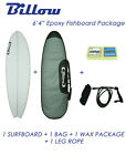 "NEW Billow 6'4"" Epoxy Fish Surfboard Package with 5xFCS fins"