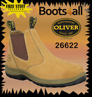 NEW Oliver Work Boots Casual Office Dress Wheat Non Safety Slip On Tradie 26622