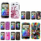 Flower/Circus/Leopard/Pink Pattern Hard Skin Case Cover For HTC Sensation 4G