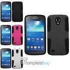 Mesh Hybrid Dual Layer Hard Case Cover For Samsung Galaxy S4 Active i9295 i537