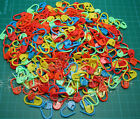 Wholesale Mixed Color Plastic Stitch Holder Needle/Knitting Craft/Marker Crochet