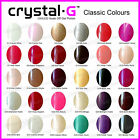 BRAND NEW CRYSTAL-G UV GEL NAIL POLISH  ( BUY 10 FREE CND SHELLAC WRAPS )