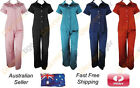 Womens Satin Pyjama PJ's Short Sleeve Shirt with Long Pants Sleepwear Loungewear