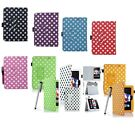 """New PU Polka Dot  Case Smart Cover for Amazon Kindle Fire  7""""  2012"""