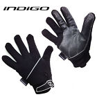 INDIGO FLEECE PADDED WHEELCHAIR, CRUTCH GLOVES (SIZE S-M-L-XL-XXL) RRP £16.99