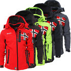 Geographical Norway Rova Men Herren Softshell Jacke Winterjacke S-XXL