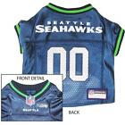 Seattle Seahawks NFL Licensed Dog Jersey - New with Tags - XS to XL - In Stock