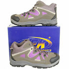 New Womens Ladies Trek Trail Hiking Lace Up Boots Shoes UK Size 3 4 5 6 7 8 9