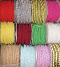 "NEW 1/2"" 3/8"" chinese Braided Gimp Trim SEWING UPHOLSTERY crafts by the yard"