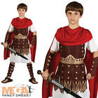 Roman Centurion Gladiator Boys Fancy Dress Book Week Kids Costume Ages 3-10 Year