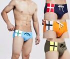 New Mens Low Rise Sexy Hot Swimwear Boxer Brief Swimsuit Size M,L,XL # QT31