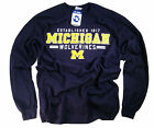 University of Michigan T-Shirt Wolverines College Football Jersey NCAA