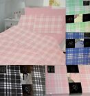 Printed Flannelette Sheets Fitted + Flat or 2 x Flat Sheet Set with Pillow case
