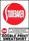 THE ICONIC STUDEBAKER CAR RED BALL EMBLEM STYLE SWEATSHIRT  TBH8TB144