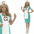 Ladies Nurse Fancy Dress Costume – Sexy Doctors and Nurses Uniform + Hat Smiffys