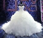 New White/ivory Wedding dress Bridal Gown custom size 6-8-10-12-14-16-18-20-22