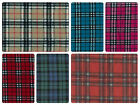 "Anti-Pil Polar Fleece Fabric - Tartan Pattern -59"" (150cm) wide - per metre/half"