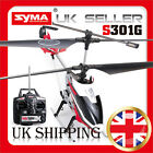 SYMA S301G Large 3 Channel Metal RC Helicopter with Gyroscope - Red/Blue/Yellow
