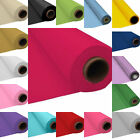 """PLASTIC TABLECOVER TABLE CLOTH BANQUET ROLL 40"""" X 100ft EVENT PARTY WEDDING"""