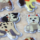 Phone Scrapbooking Shiny Sparkle Bubble Puffy Stickers Pet Dogs LCPOA03004