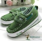 NWT Baby Boys Next Green Non Slip Soft Toddles Shoes Prewalkers Size 0-18m