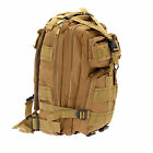 Outdoor Camping Hiking Trekking Tactical Bag w/ Waist Bag Utility Backpack