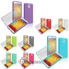 TPU Gel Rubber Flip Book Frosted Case Cover For Samsung Galaxy Note III 3 N9000